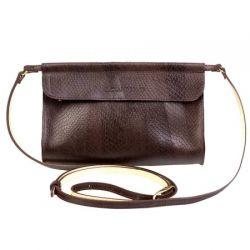 клатч ALEXANDER-TS KB009-Brown-Piton сумка женская в интернет магазине DESSA