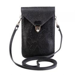 клатч ALEXANDER-TS SW10-Black-Piton1 сумка женская в интернет магазине DESSA