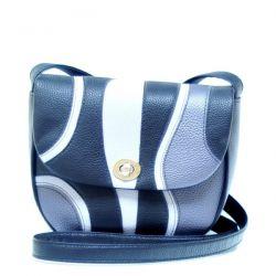 сумка MISS-BAG MA1315-Chernyi-Seryi сумка женская в интернет магазине DESSA