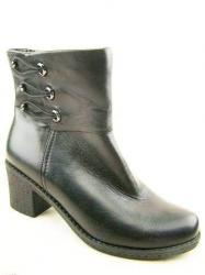 полусапоги ASCALINI DZ5780BK обувь женская в интернет магазине DESSA