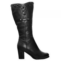 сапоги ASCALINI CZ5918BK обувь женская в интернет магазине DESSA