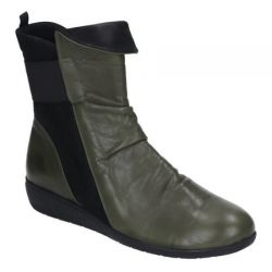 полусапоги MANITU 991417-7 обувь женская в интернет магазине DESSA