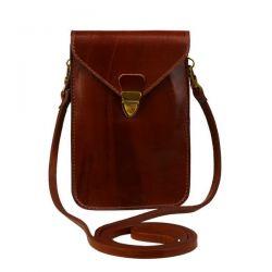 клатч ALEXANDER-TS SW10-Cognac сумка женская в интернет магазине DESSA