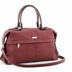сумка SALOMEA 110-flok-bordo сумка женская в интернет магазине DESSA