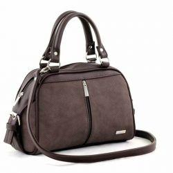 сумка SALOMEA 257-flok-shokolad сумка женская в интернет магазине DESSA