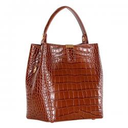 сумка Polina&Eiterou 9137K-caramel сумка женская в интернет магазине DESSA