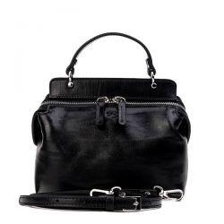клатч ALEXANDER-TS KB0020-Black-Silver сумка женская в интернет магазине DESSA
