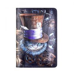 обложка для паспорта ALEXANDER-TS Cheshir-v-shlape аксессуары в интернет магазине DESSA
