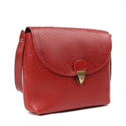 клатч ALEXANDER-TS KB001-Red-Piton сумка женская в интернет магазине DESSA