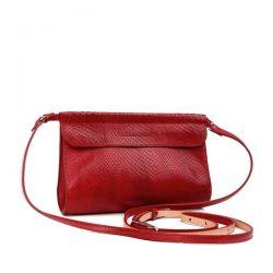 клатч ALEXANDER-TS KB009-Red-Piton сумка женская в интернет магазине DESSA