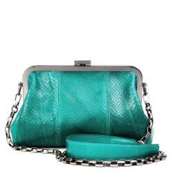 клатч ALEXANDER-TS KB0016-Green-Piton сумка женская в интернет магазине DESSA