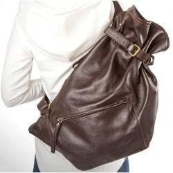 рюкзак ALEXANDER-TS R0003-Brown сумка женская в интернет магазине DESSA