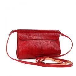 клатч ALEXANDER-TS KB009-RedPiton сумка женская в интернет магазине DESSA