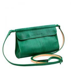 клатч ALEXANDER-TS KB009-GreenPiton сумка женская в интернет магазине DESSA