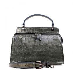 сумка ALEXANDER-TS W0042-GrayCroco сумка женская в интернет магазине DESSA
