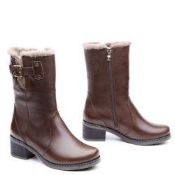полусапоги EQUATOR 249-3-kor обувь женская в интернет магазине DESSA