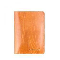 обложка для паспорта ALEXANDER-TS PR006-Mustard аксессуары в интернет магазине DESSA