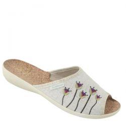 шлепанцы ADANEX 031-25076 обувь женская в интернет магазине DESSA