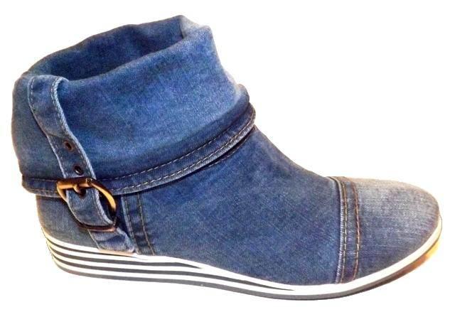 где купить джинсовую обувь: